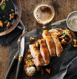 Kyckling och levainbröd, recept inspirerat från europa