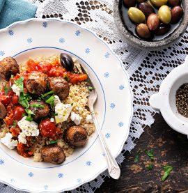 Gott recept på köttbullar med couscous