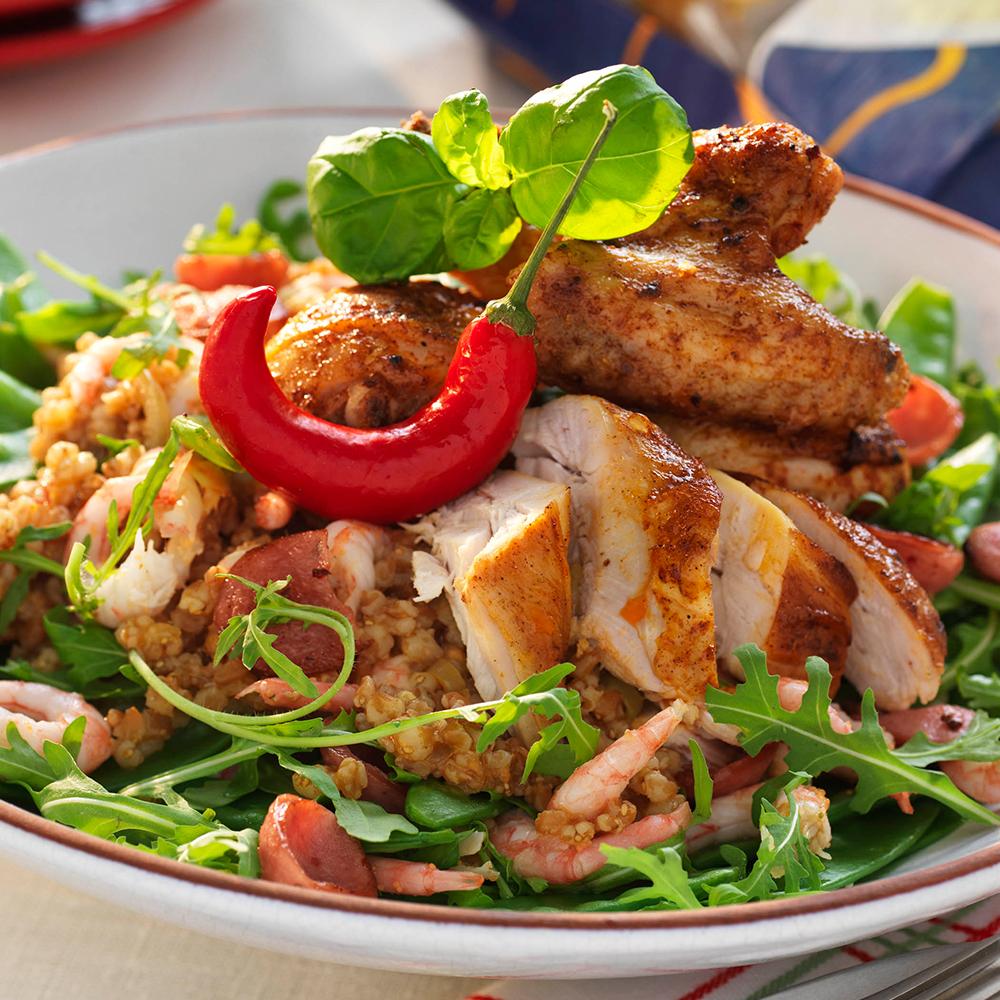 nyttiga recept med kyckling