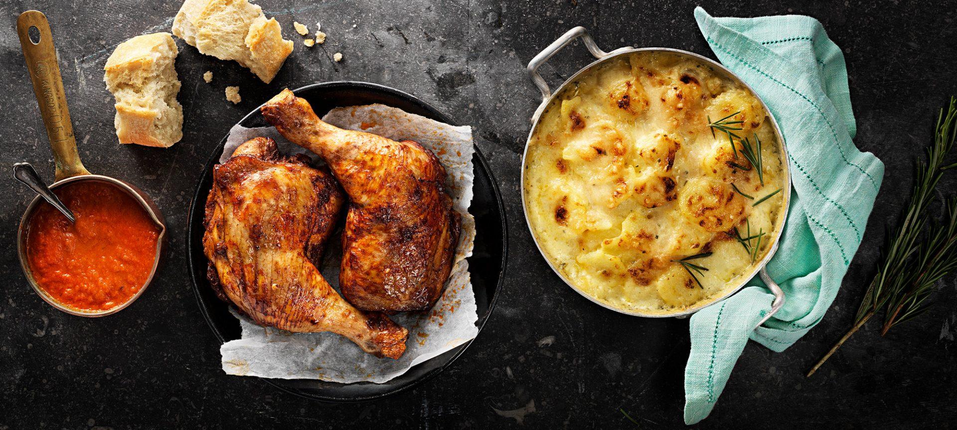 kalorier grillad kyckling utan skinn