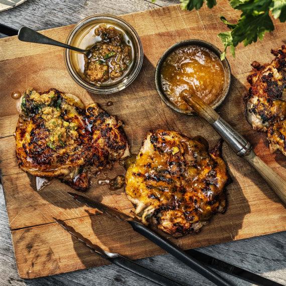 Recept - Grillglaze för kyckling - 30 min enkelt