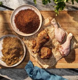 Enkel BBQ rub som höjer smaken på din grillade kyckling