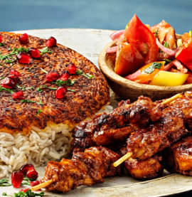 Kycklingspett kebab